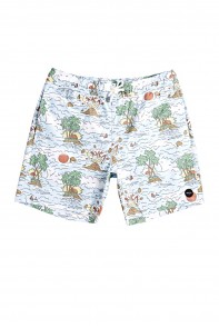 Montague Elastic Trunk di RVCA in vendita da Cloverfield Store