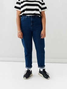 Indigo Mom Jeans di Lazy Oaf in vendita da Cloverfield Store