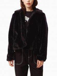 Icon Faux Fur WOs Jacket di Obey in vendita da Cloverfield Store