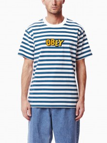 Jumbled S/S Tee di Obey in vendita da Cloverfield Store