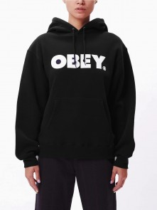 Novel Obey Box Fit Hood Fleece WOs di Obey in vendita da Cloverfield Store