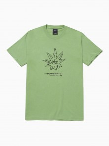 Easy Green S/S Tee di HUF in vendita da Cloverfield Store